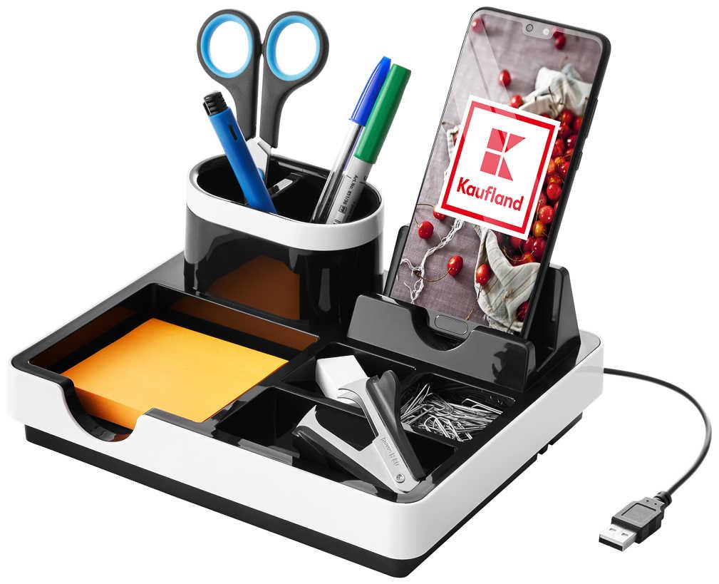 Abbildung des Angebots GENIE Desk-Organizer mit Ladefunktion