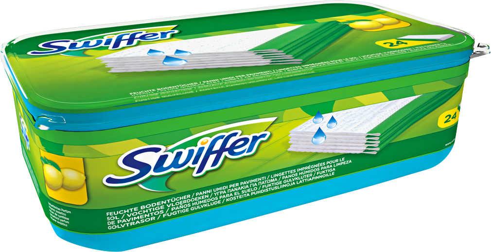 Abbildung des Angebots SWIFFER Feuchte Bodenreinigungstücher