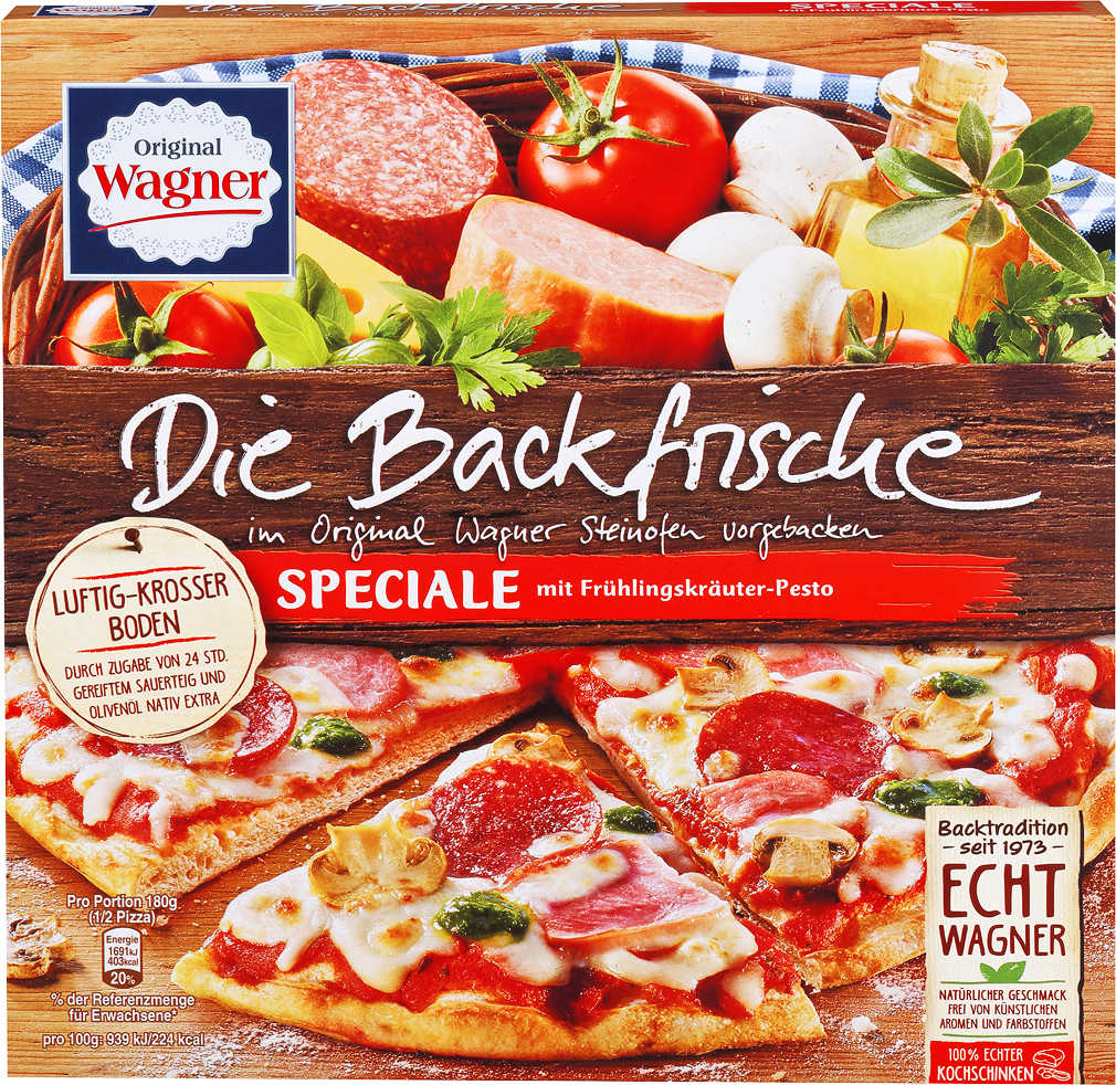 Abbildung des Angebots ORIGINAL WAGNER Backfrische oder Big City Pizza