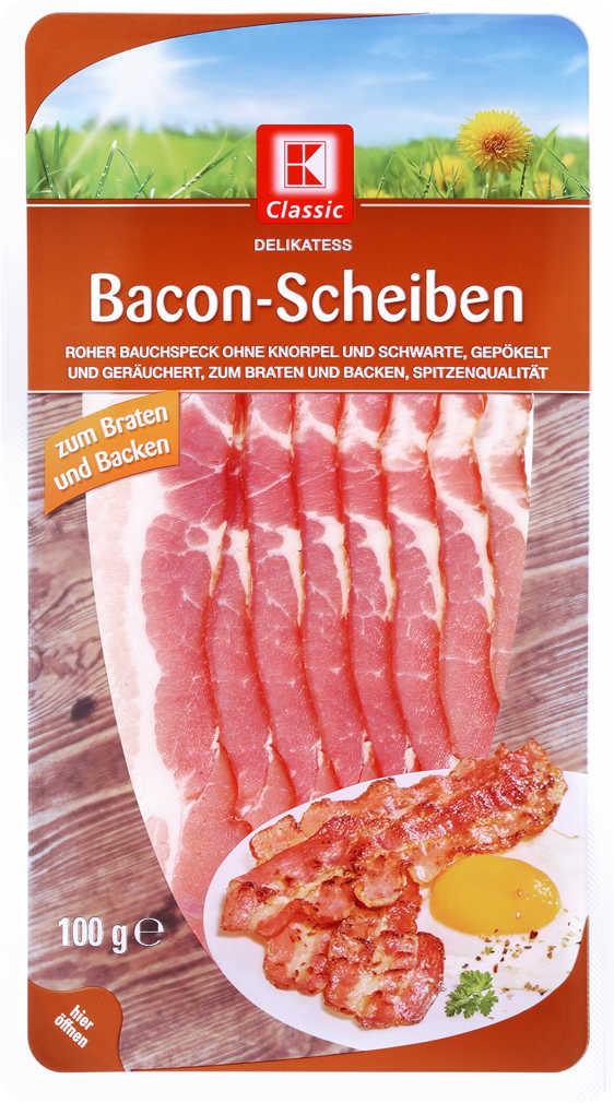 Abbildung des Angebots K-CLASSIC Bacon-Scheiben
