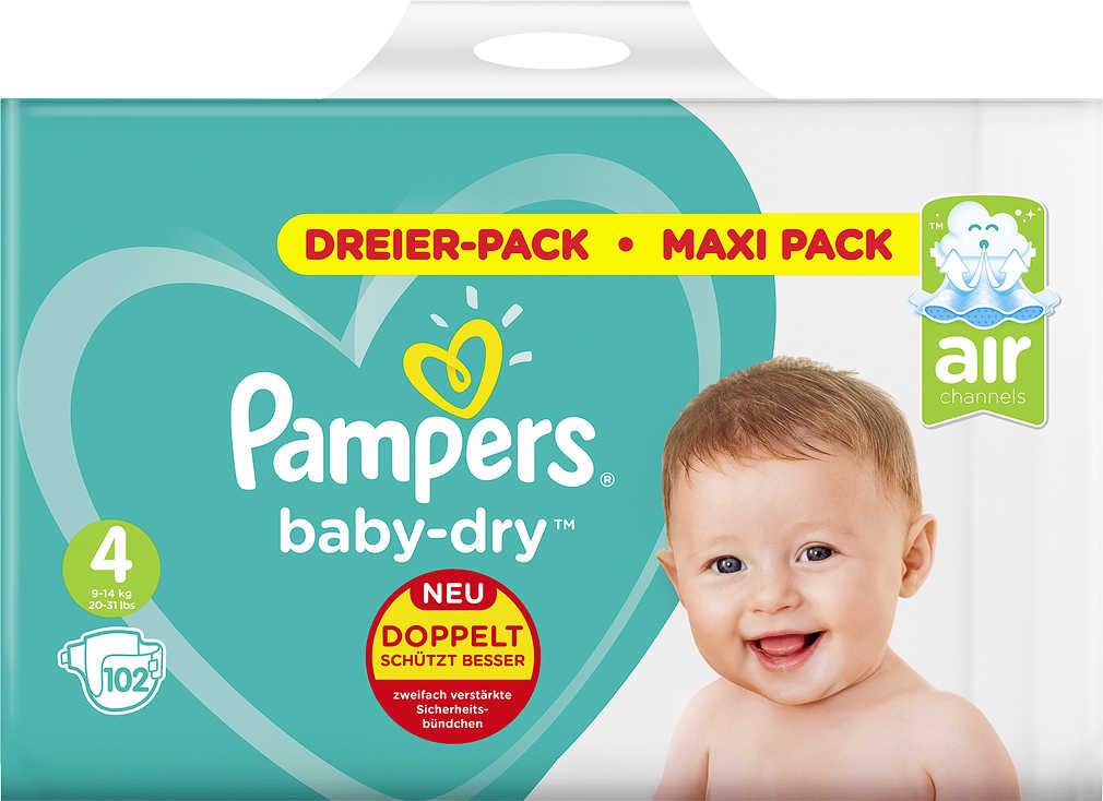 Abbildung des Angebots PAMPERS Baby Dry oder Premium Protection Windeln