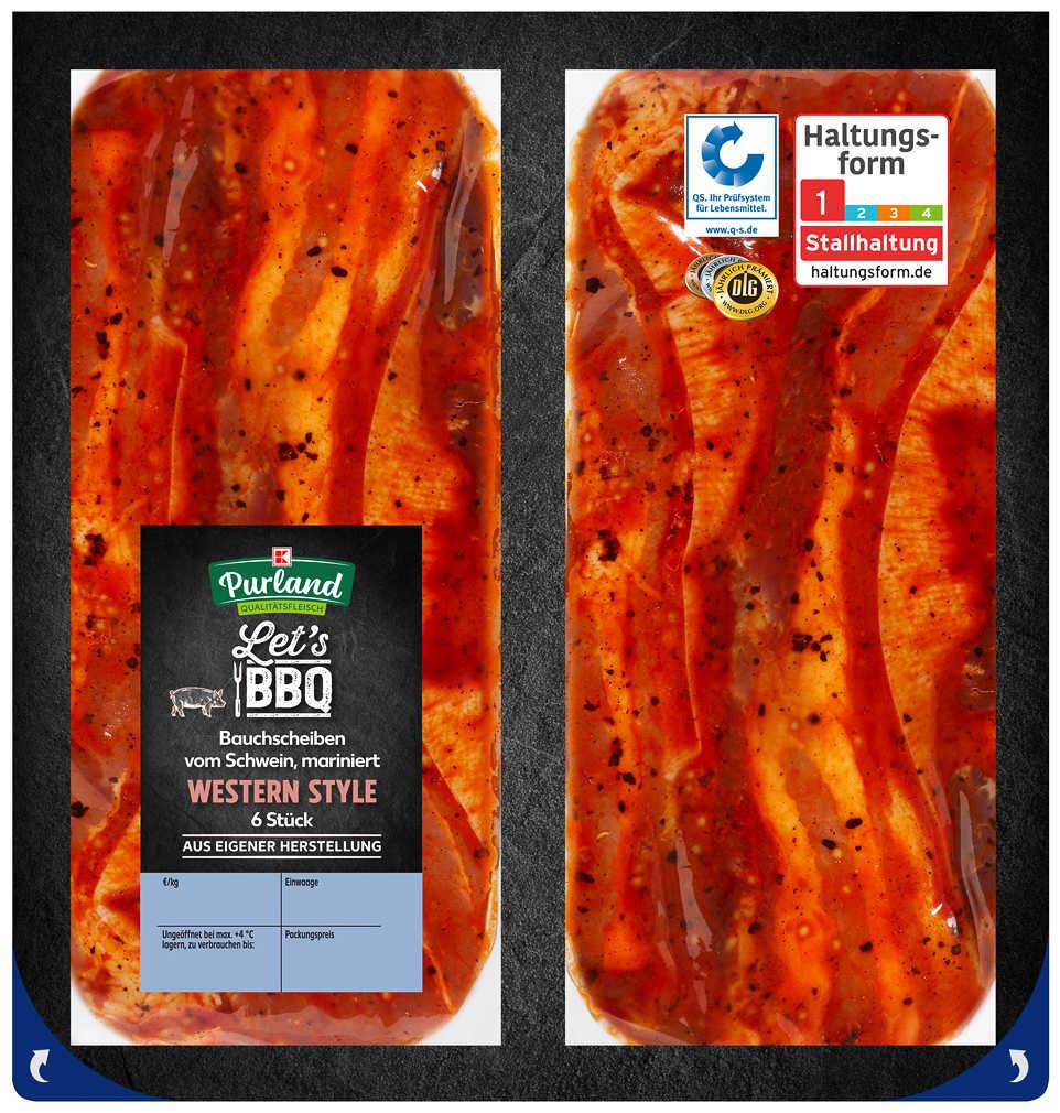 Abbildung des Angebots K-PURLAND Western-Bacon