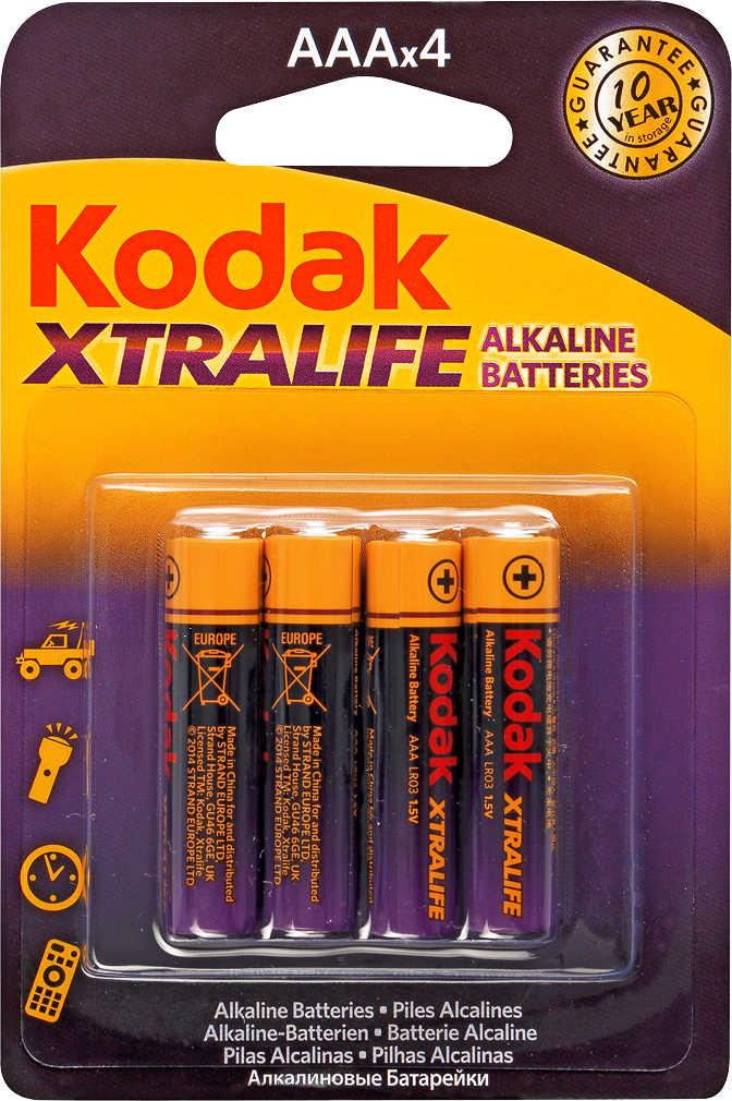 Abbildung des Angebots KODAK Alkaline-Batterien AAA »XTRALIFE«