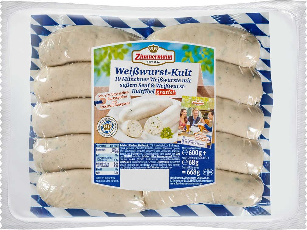 Abbildung des Angebots ZIMMERMANN Weißwurst-Kult