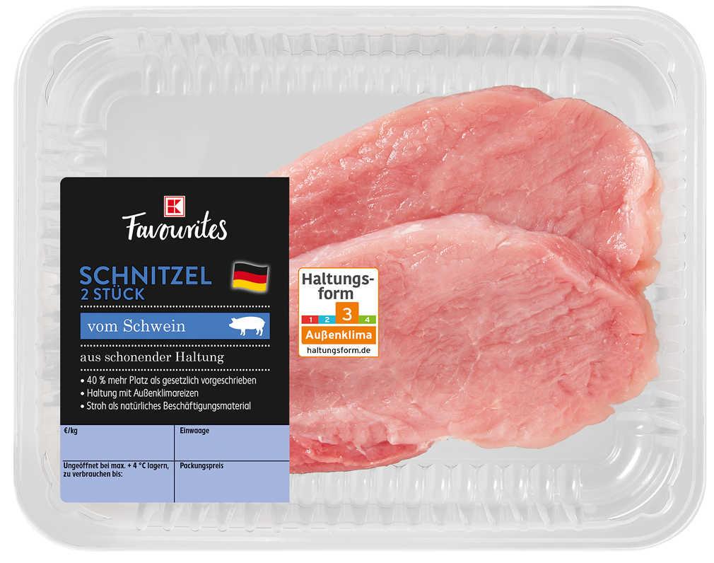 Abbildung des Angebots K-FAVOURITES Schweineschnitzel