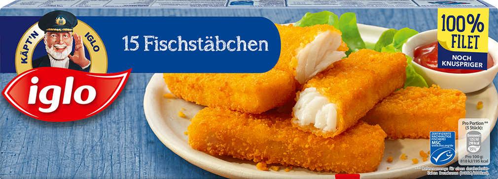 Abbildung des Angebots IGLO Fischstäbchen