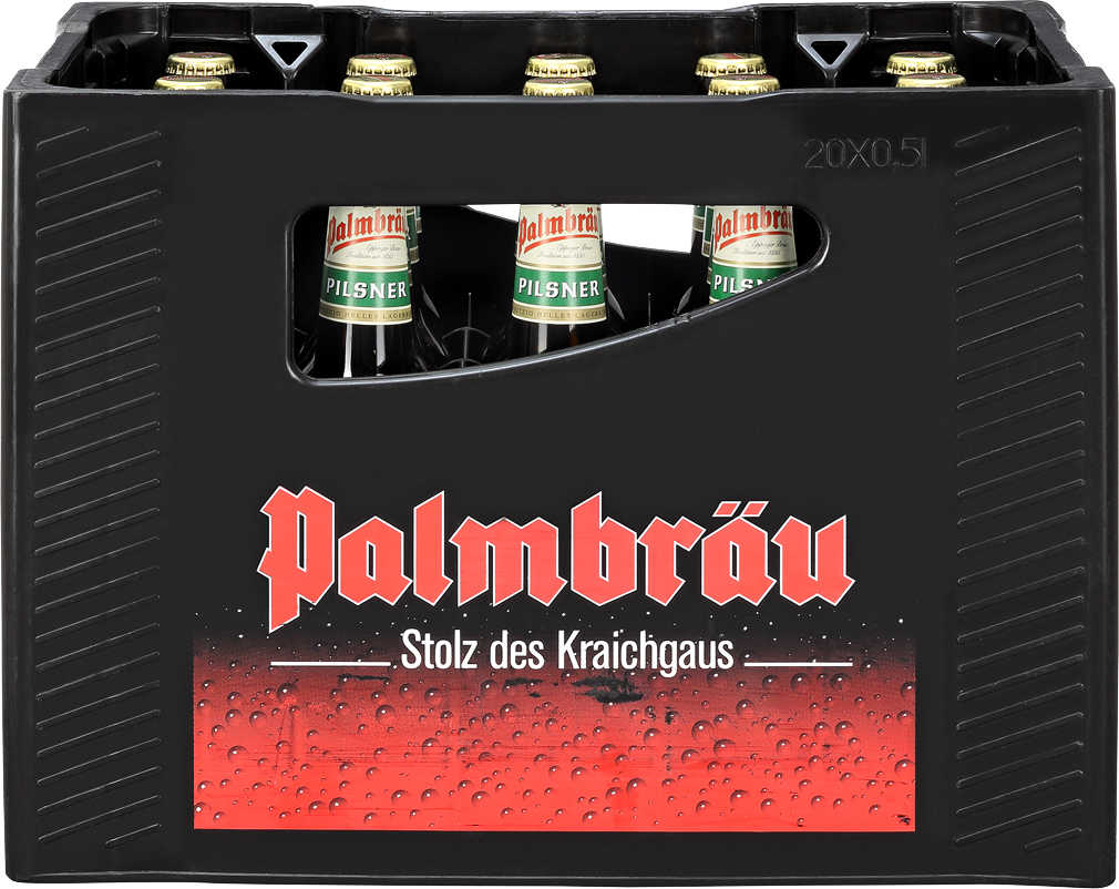 Abbildung des Angebots PALMBRÄU Pilsner oder Export