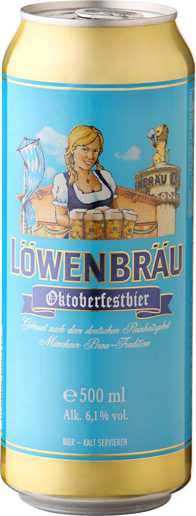 Abbildung des Angebots LÖWENBRÄU Oktoberfestbier