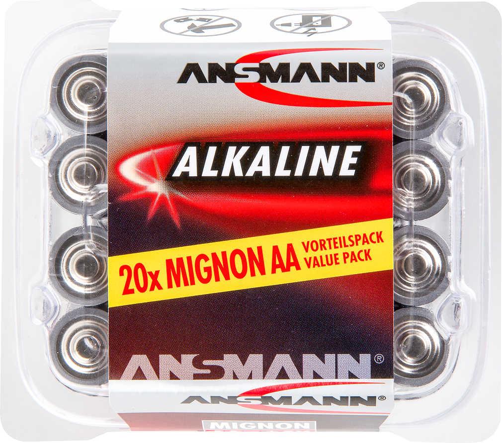 Abbildung des Angebots ANSMANN Alkaline-Batterien AA