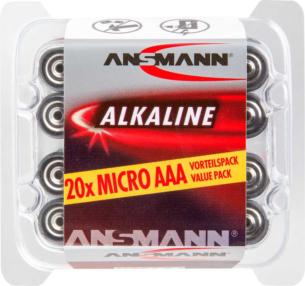 Abbildung des Angebots ANSMANN Alkaline-Batterien AAA