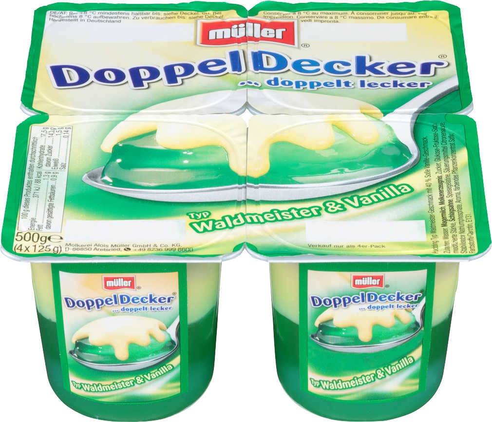 Abbildung des Angebots MÜLLER Doppel-Decker oder Wackelpudding