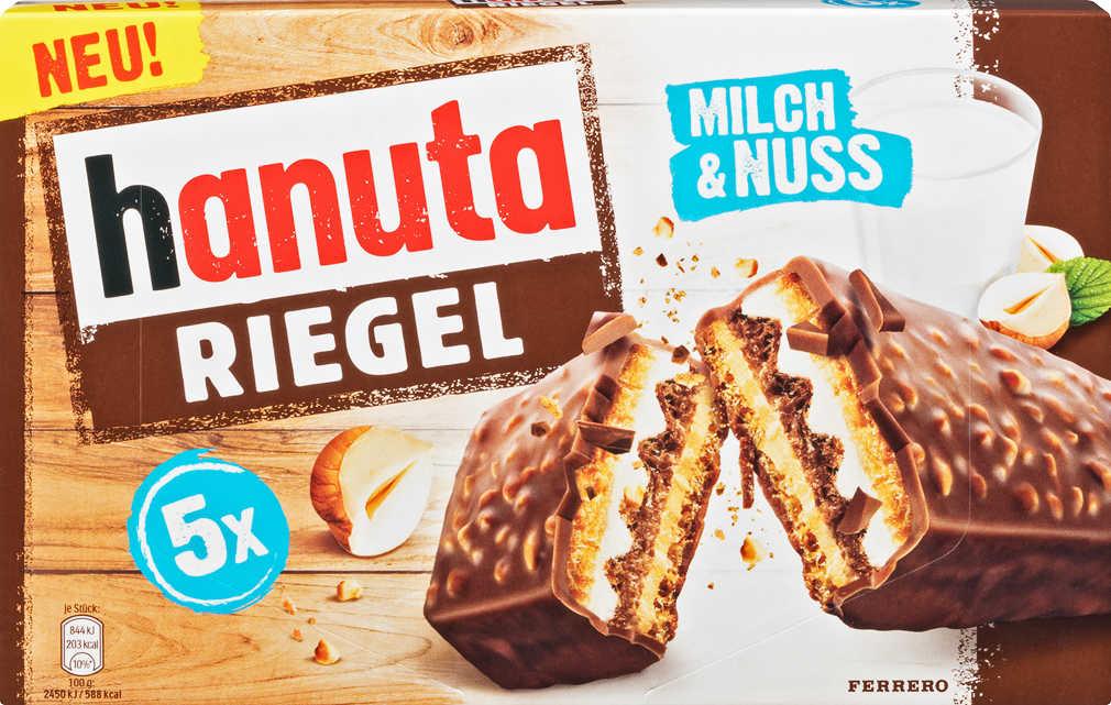 Abbildung des Angebots FERRERO Hanuta Riegel Milch & Nuss