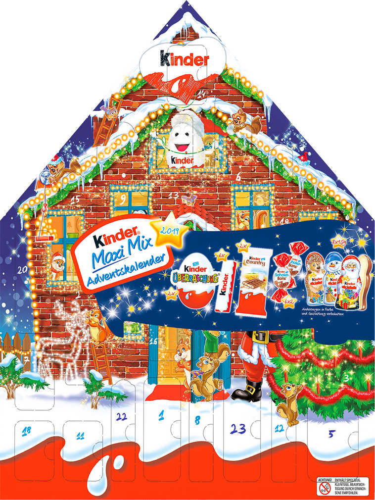 Abbildung des Angebots KINDER Maxi-Mix-Adventskalender