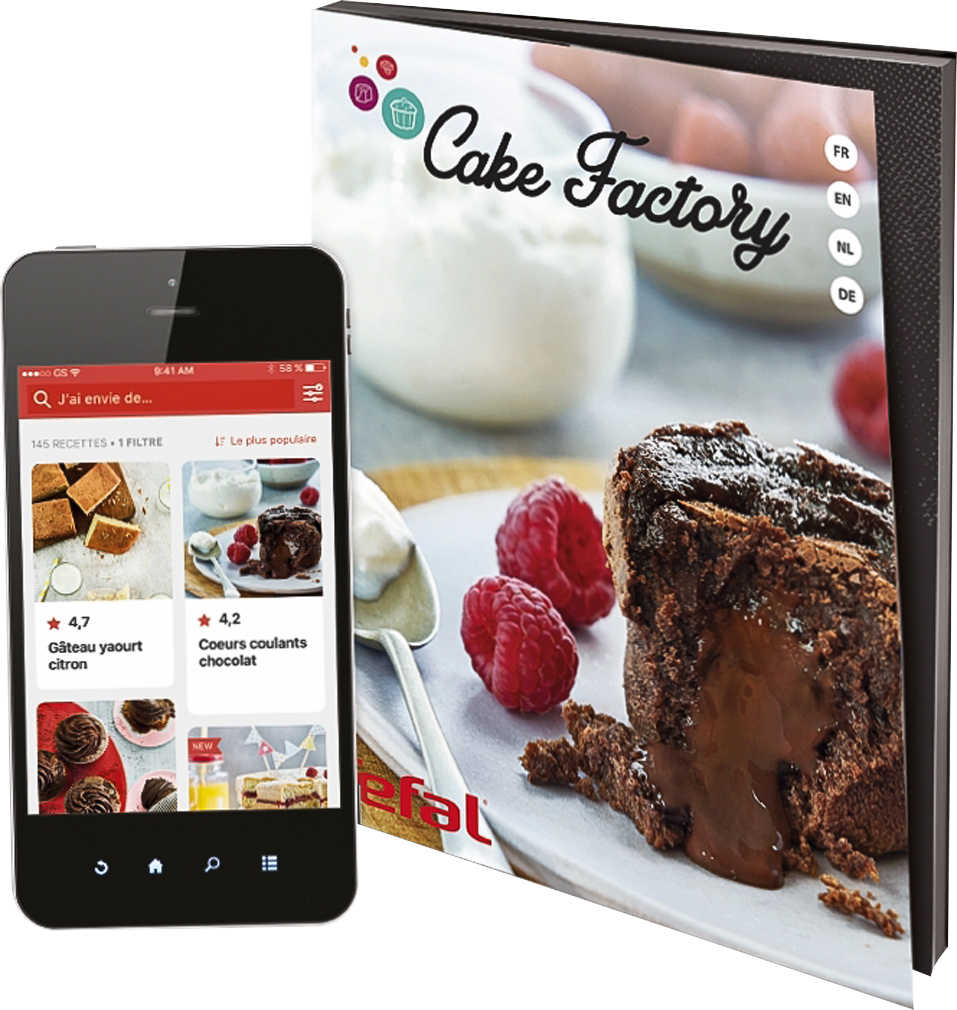 Abbildung des Angebots TEFAL Kuchenbackautomat »Cake Factory KD8018«
