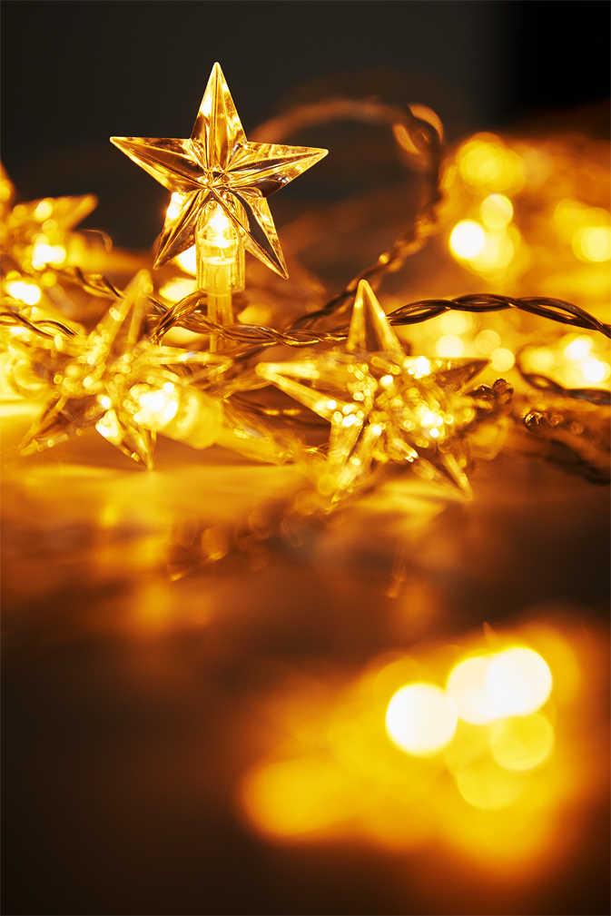 Abbildung des Angebots LIV&BO® LED-Sternenlichtervorhang