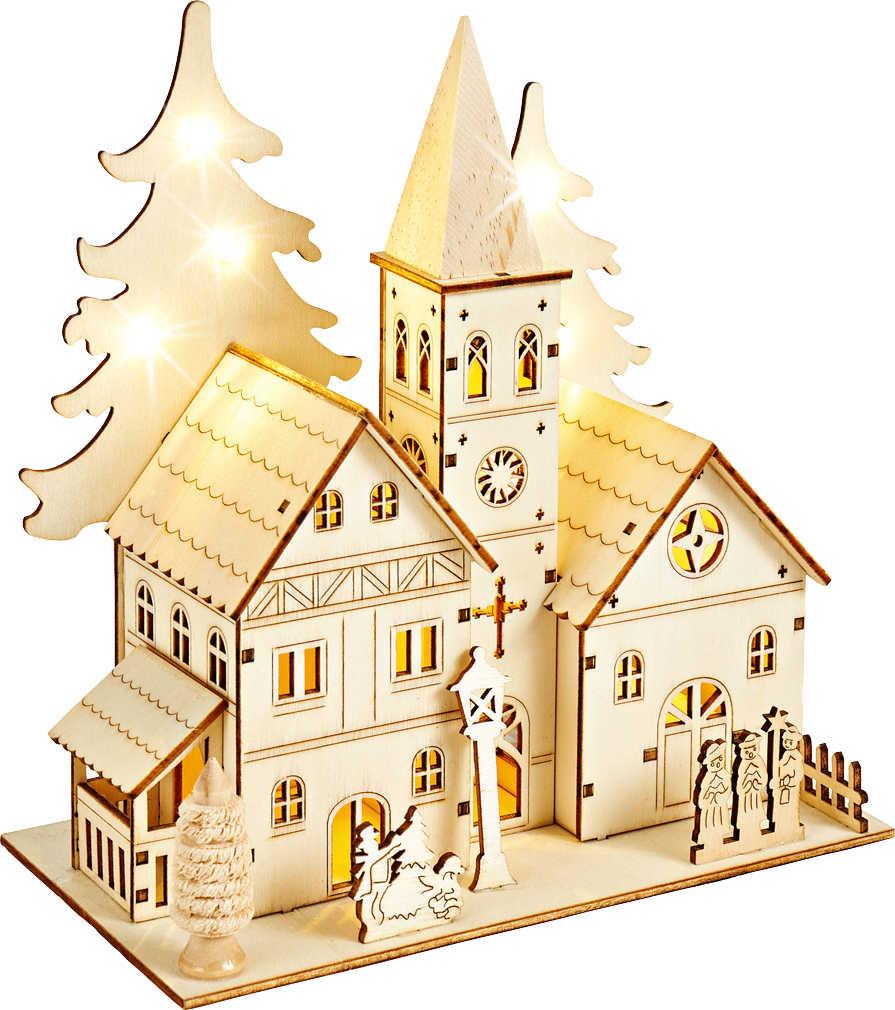 Abbildung des Angebots LIV&BO® LED-Weihnachtsdorf