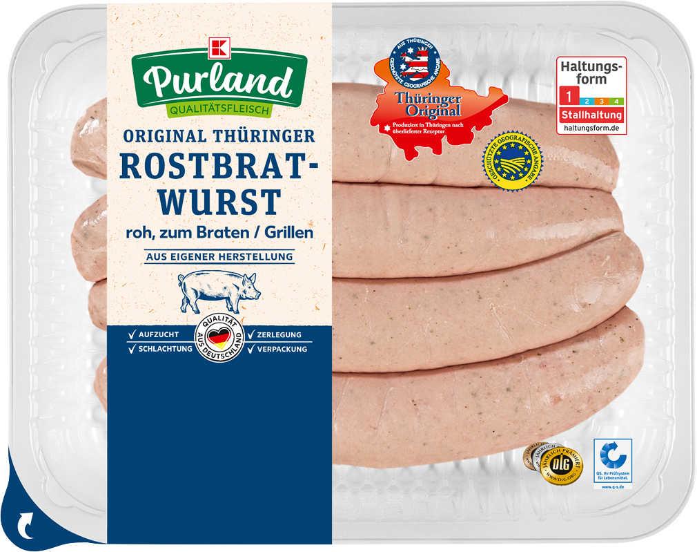 Abbildung des Angebots K-PURLAND Original Thüringer Rostbratwurst roh