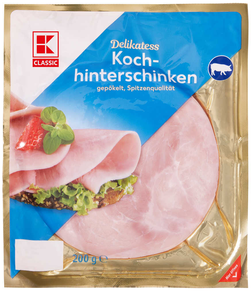 Abbildung des Angebots K-CLASSIC Kochhinterschinken