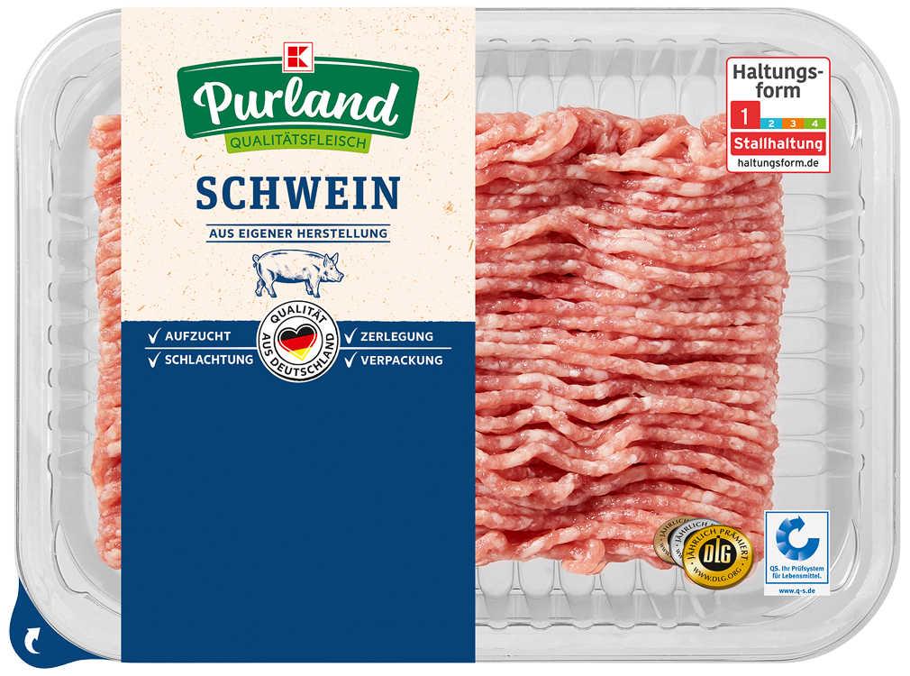 Abbildung des Angebots K-PURLAND Hackepeter/Schweinemett