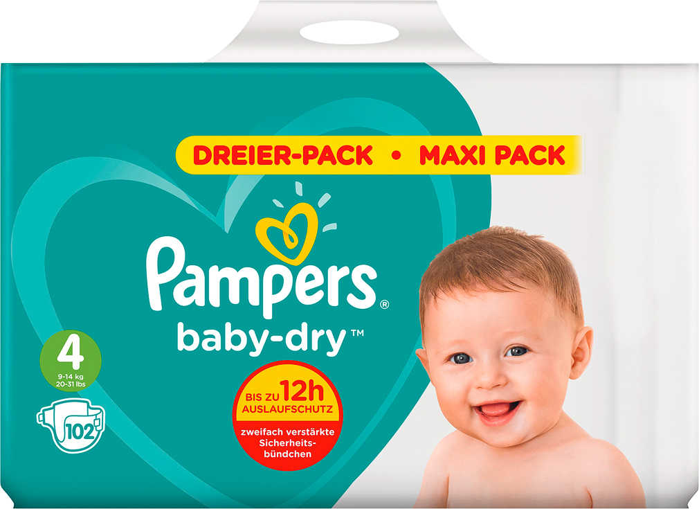Abbildung des Angebots PAMPERS Baby Dry Windeln oder Pants