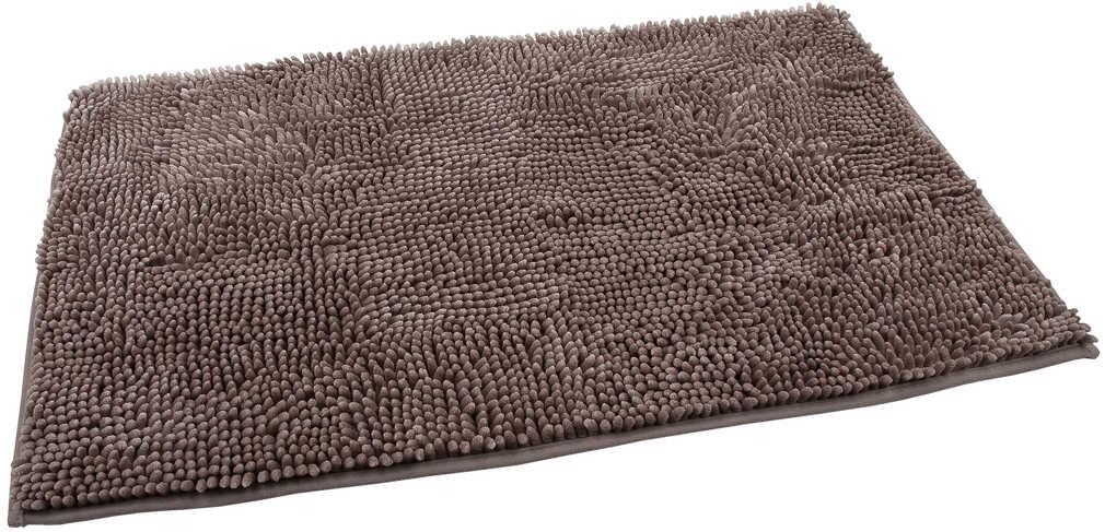 Chenille Twist 100/% Baumwolle Grau Weich Badezimmer Badematte Set