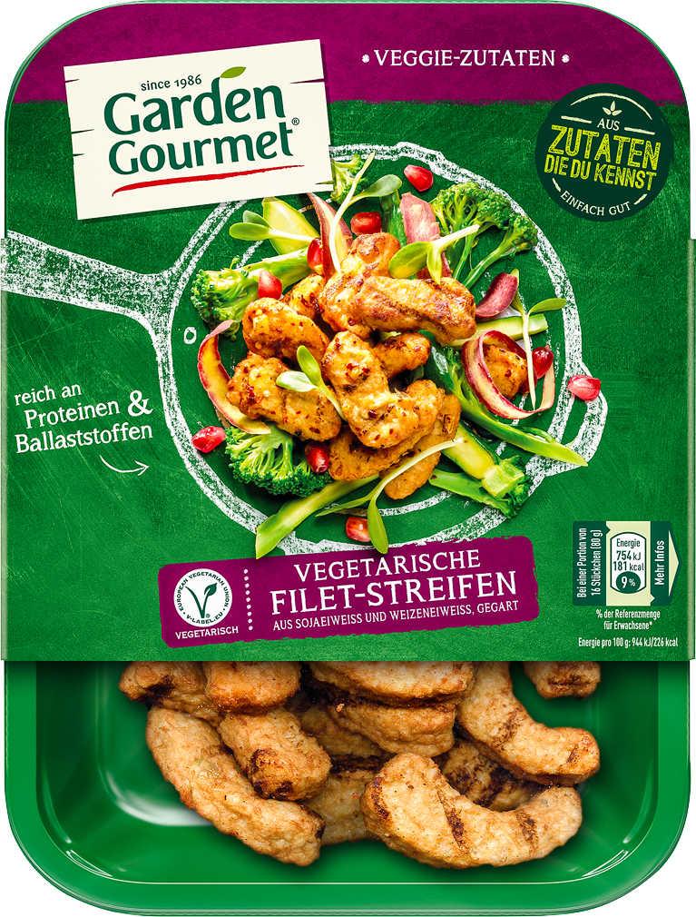 Abbildung des Angebots GARDEN GOURMET Vegetarische Filet-Streifen