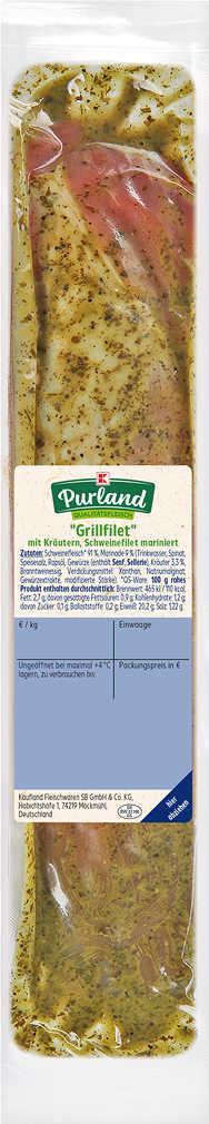 Abbildung des Angebots K-PURLAND Schweinefilet »Provence«