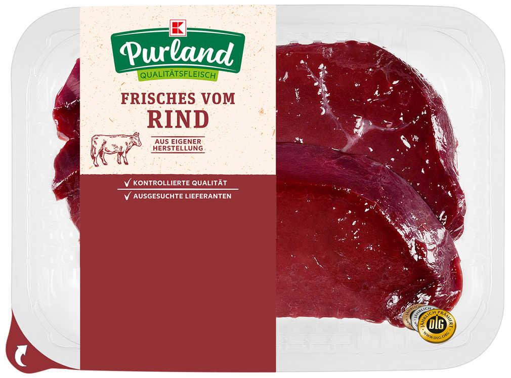 Abbildung des Angebots K-PURLAND Rinderleber geschnitten