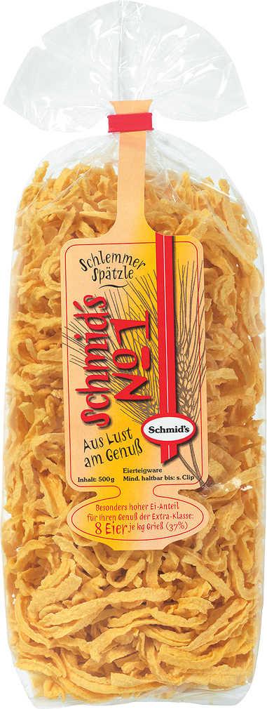 Abbildung des Angebots SCHMID'S NO. 1 Schlemmer-Spätzle o. -Nudeln