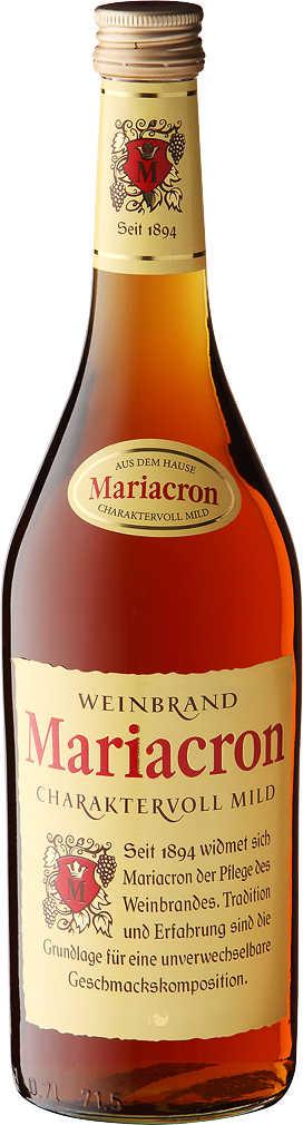 Abbildung des Angebots MARIACRON Weinbrand