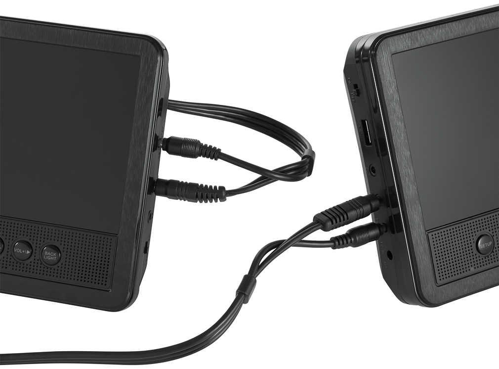 Abbildung des Angebots REFLEXION Kopfstützen-DVD-Player mit 2 Monitoren
