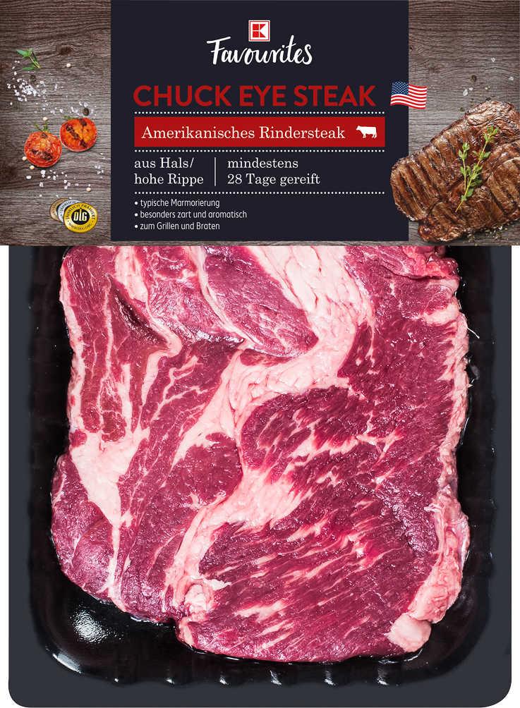 Abbildung des Angebots K-FAVOURITES Amerik. Chuck Eye Steak