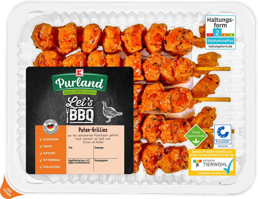 Abbildung des Angebots K-PURLAND Puten Grillies