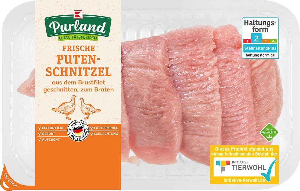 Abbildung des Angebots K-PURLAND Puten-Schnitzel