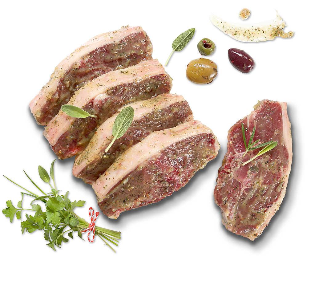 Abbildung des Angebots Lammkotelett, mariniert »Kräuter«