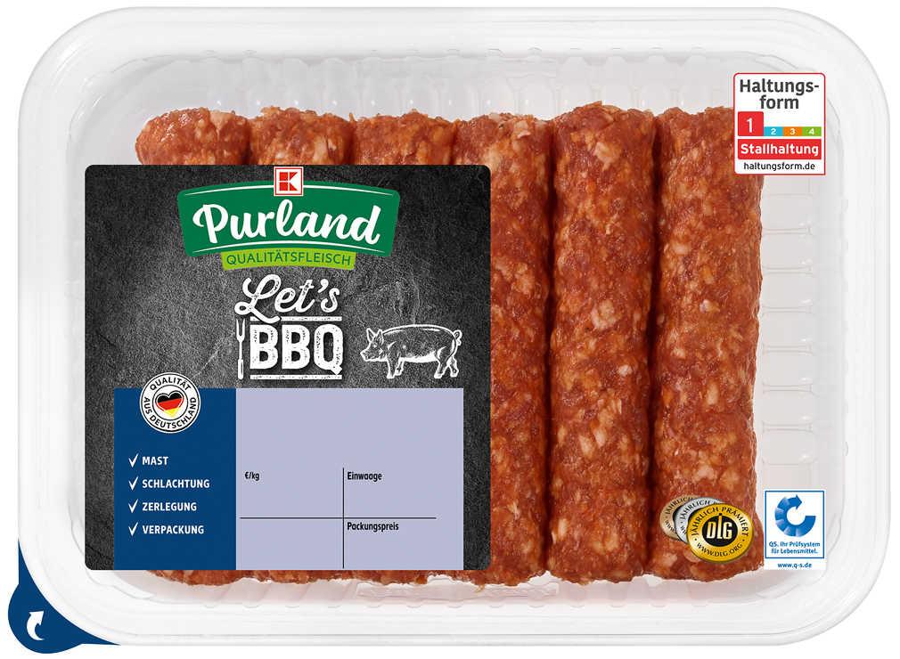 Abbildung des Angebots K-PURLAND Cevapcici vom Schwein
