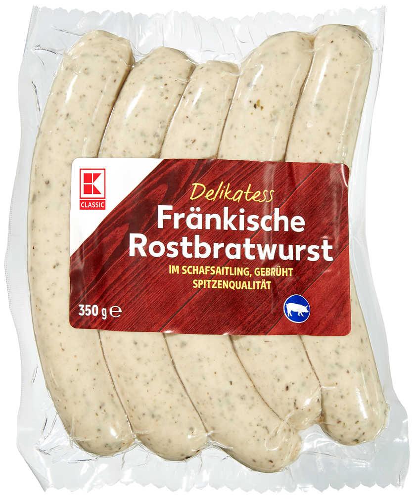 Abbildung des Angebots K-CLASSIC Fränkische Rostbratwurst