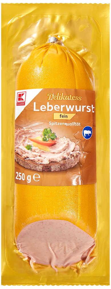 Abbildung des Angebots K-CLASSIC Delikatess-Leberwurst