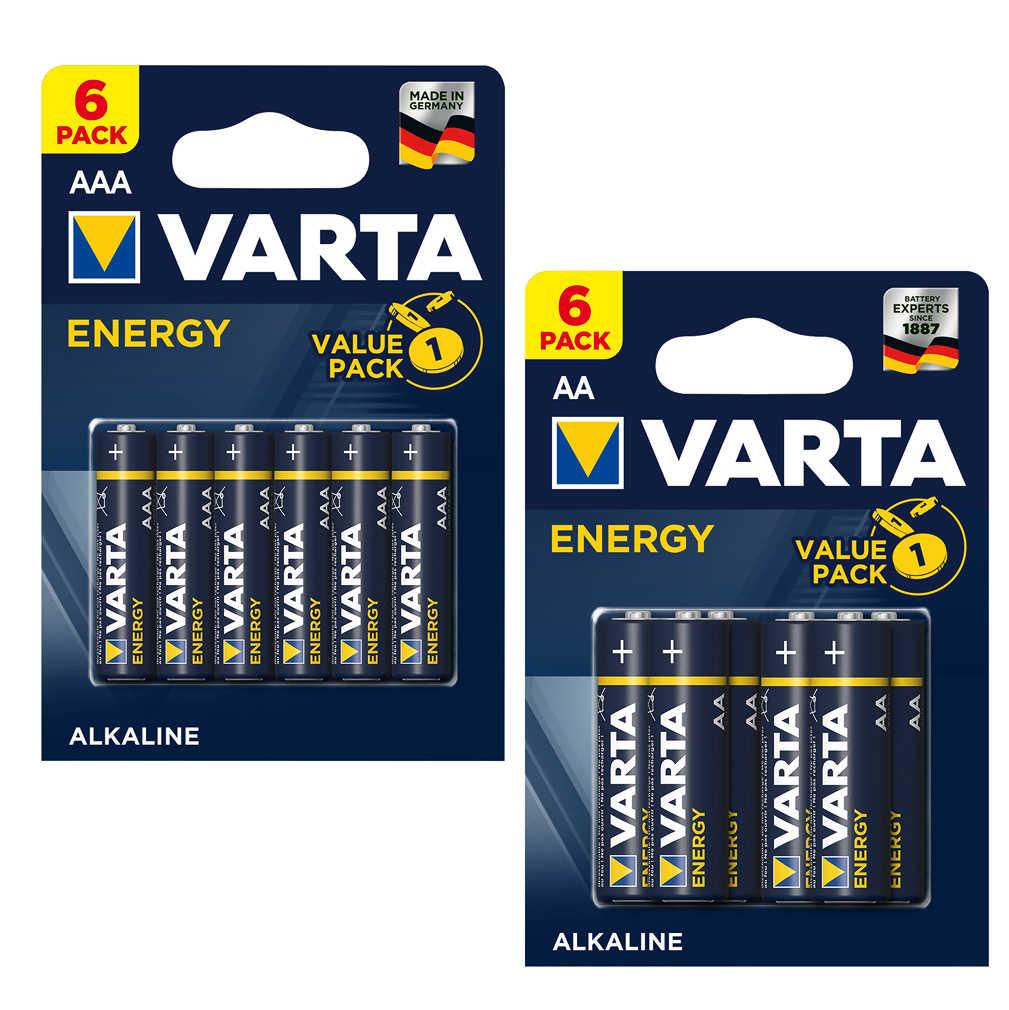 Abbildung des Angebots VARTA Alkaline-Batterien »Energy« AA oder AAA