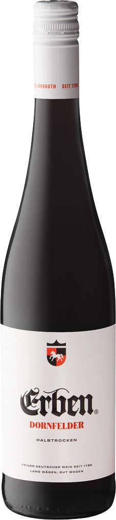 Abbildung des Angebots ERBEN Qualitätsweine, z. B. Dornfelder halbtr.