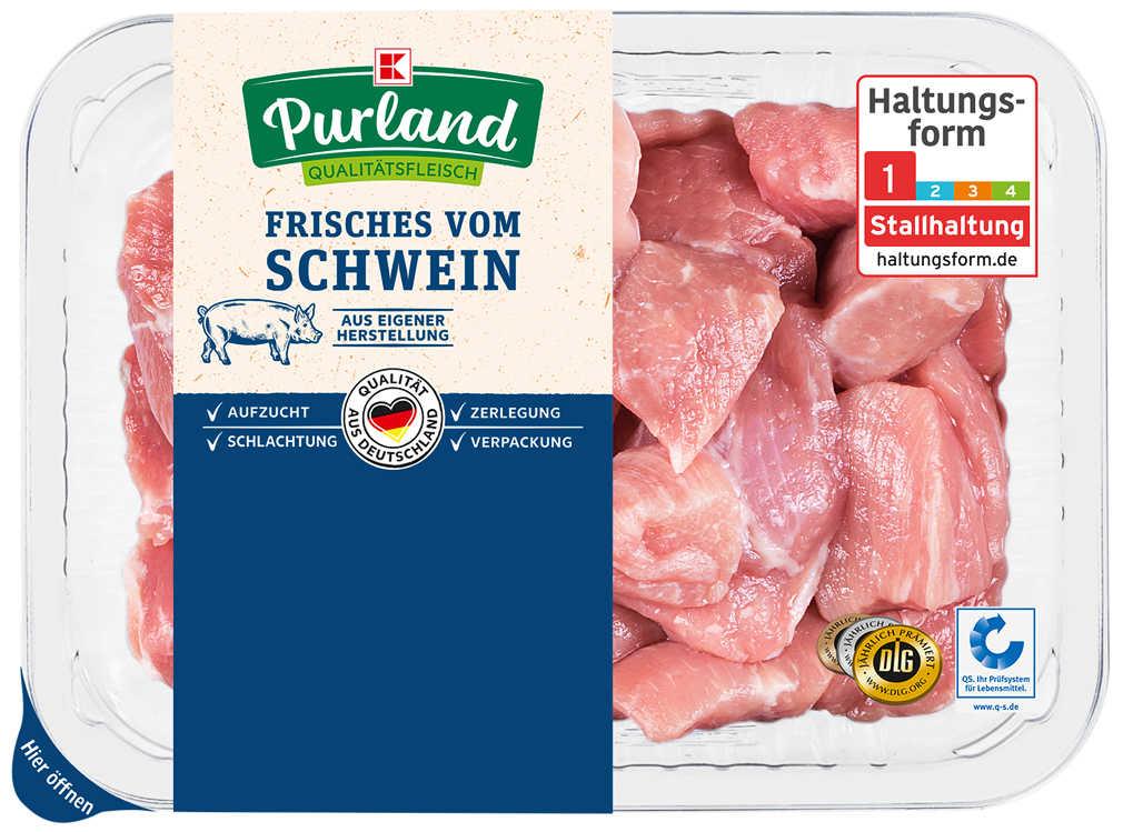 Abbildung des Angebots K-PURLAND XXL-Schweinegulasch