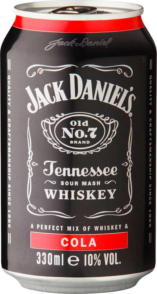 Abbildung des Angebots JACK DANIEL'S Tennessee-Whiskey- Mixgetränk