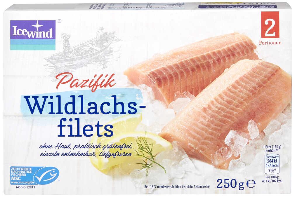 Abbildung des Angebots ICEWIND Pazifik-Wildlachsfilets