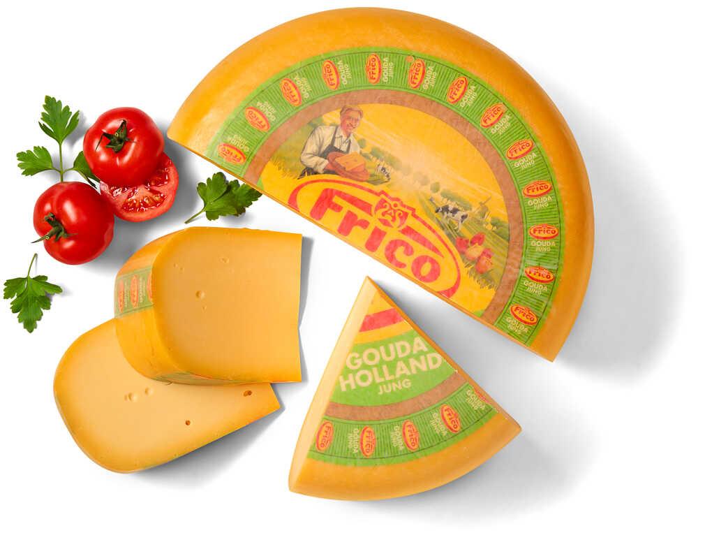Abbildung des Angebots FRICO Gouda jung 48 % Fett i. Tr.