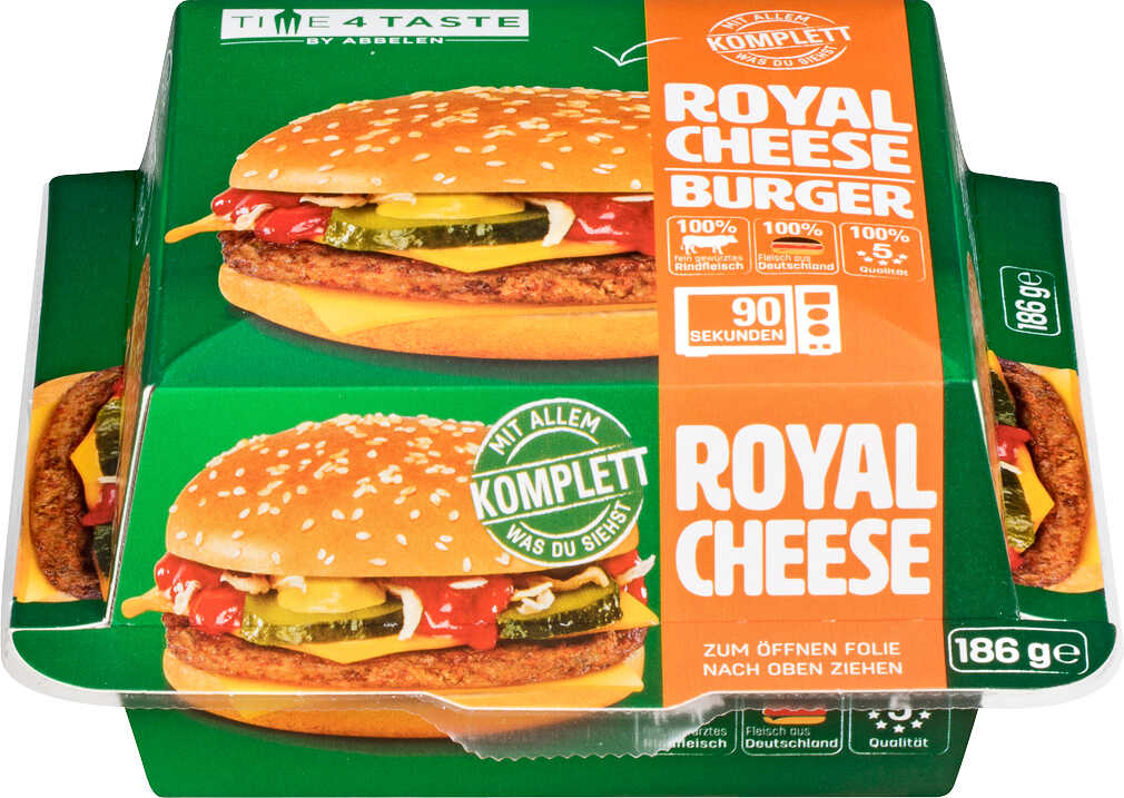 Abbildung des Angebots TIME4TASTE Royal Cheese oder Big Double Burger