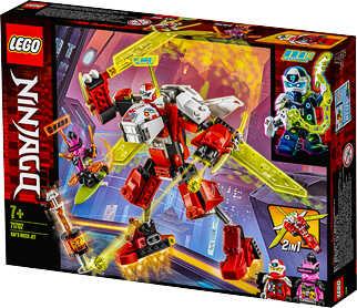 Abbildung des Angebots LEGO NINJAGO Spielset 71707 »Kais Mech Jet«