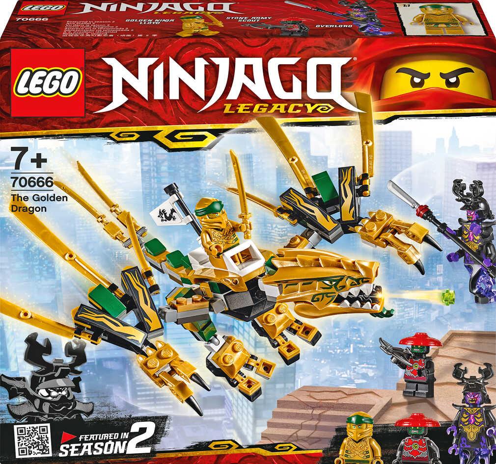 Abbildung des Angebots LEGO NINJAGO Spielset 70666 »Goldener Drache«
