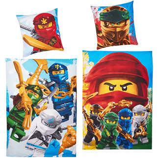 Abbildung des Angebots  Bettwäsche-Garnitur »Lego Ninjago«