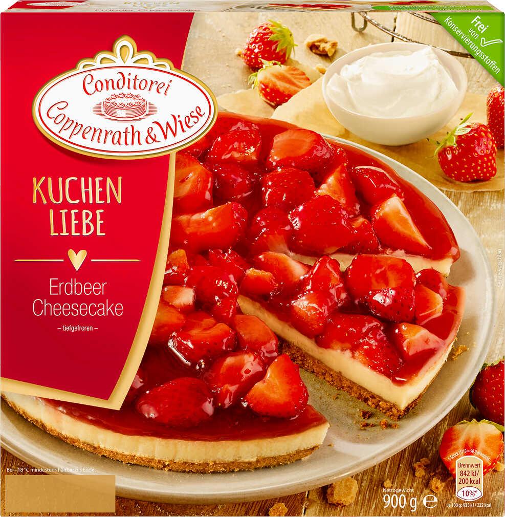 Abbildung des Angebots COPPENRATH & WIESE Kuchen-Liebe Erdbeer-Cheesecake