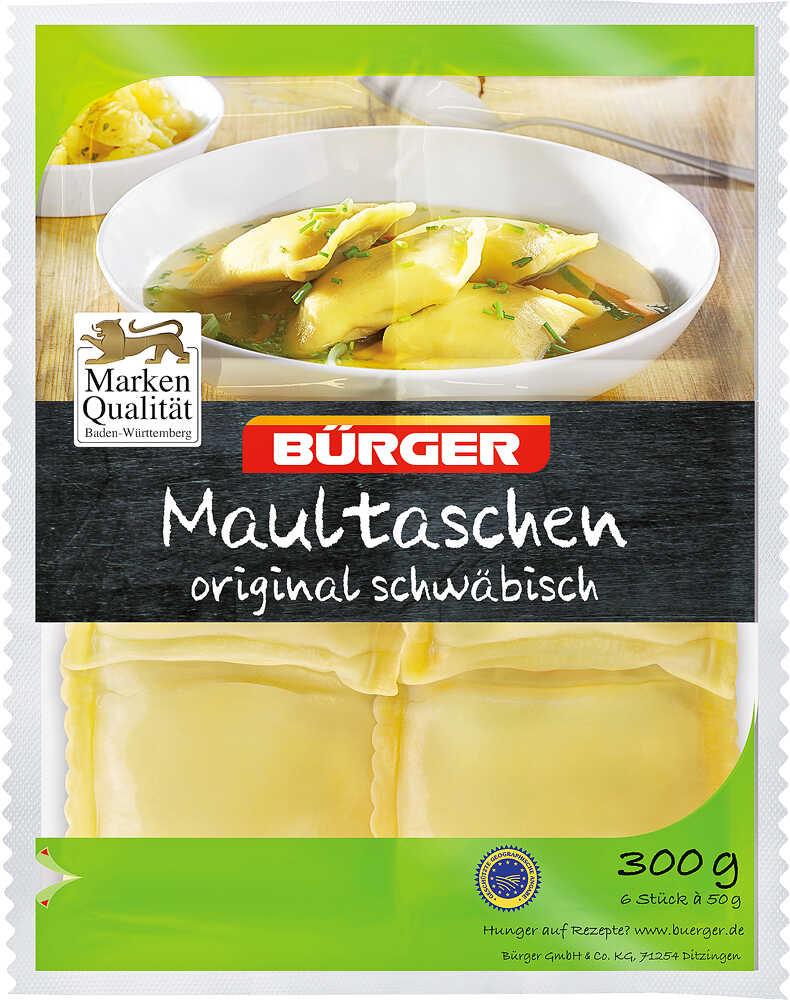 Abbildung des Angebots BÜRGER Schwäbische Maultaschen
